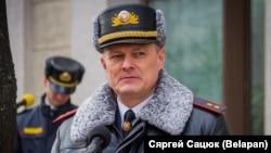 Міністар унутраных спраў Беларусі Ігар Шуневіч