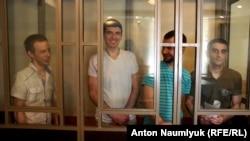 Зліва направо: Руслан Зейтуллаєв, Рустем Ваітов, Нурі Примов, Ферат Сайфуллаєв
