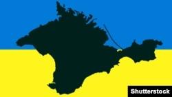 Карта Крыма. Иллюстрационное фото