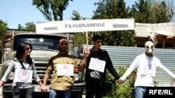 «Մենք ենք այս քաղաքի տերը» նախաձեռնության բողոքի ակցիան, Երեւան, 14-ը մայիսի, 2010թ․