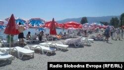 Плажа во Струга