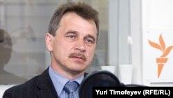 Лидер Объединенной гражданской партии Белоруссии Анатолий Лебедько