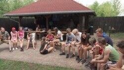 Kamp za decu veterana konflikta u Donbasu