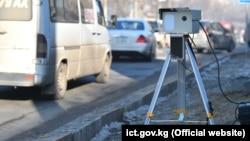 Передвижной аппаратно-программный комплекс в Бишкеке. Иллюстративное фото.