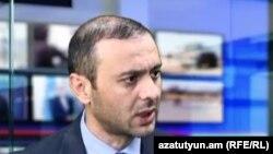 Секретарь Совета безопасности Армении Армен Григорян