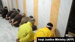 ارشیف، په بغداد کې یو شمېر بندیان، عکس تئزیني بڼه لري