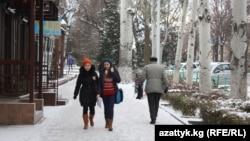 Бишкек. Архивное фото.