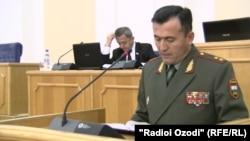 Эмомали Собирзода, первый заместитель министра обороны Таджикистана
