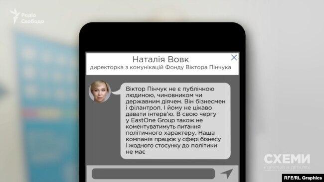 У пресслужбі Віктора Пінчука «Схемам» відмовили у інтерв'ю