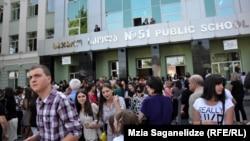 Выпускные экзамены в грузинских школах завершились. Впрочем, облегченно вздохнуть смогли далеко не все школьники