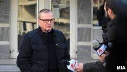 Драган Павловиќ Латас пред Кривичниот суд. Архивска фотографија.