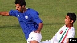 تیم ملی فوتبال جوانان ایران در اولین گام خود شکست خورد. عکس از فارس