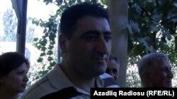 Раміль Сафараў пасьля вяртаньня ў Баку, 31 жніўня, 2012