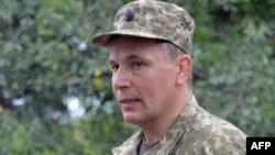 Ukrainian Defense Minister Valeriy Heletey