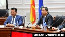 Архивска фотографија: Премиерот Зоран Заев и вицепремиерот Кочо Анѓушев