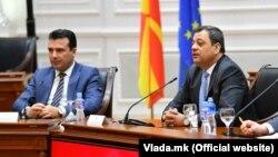 Зоран Заев и Кочо Анѓушев