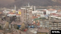 The city of Mitrovica