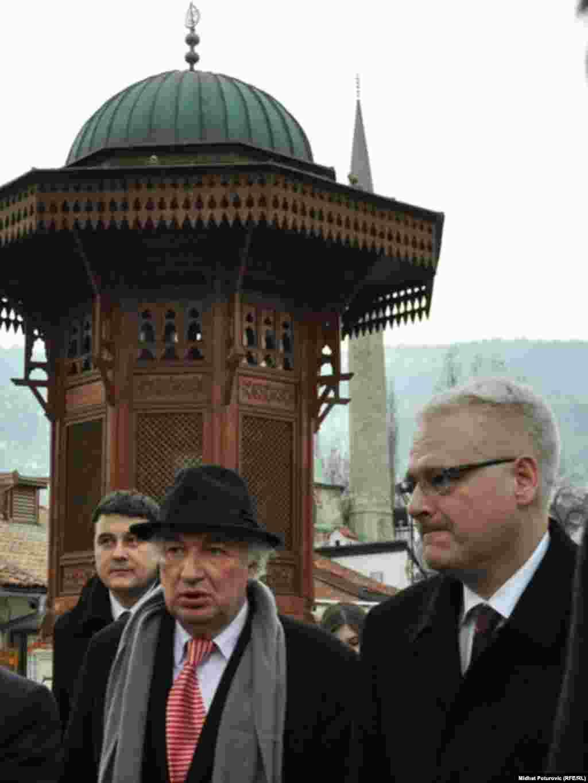 Josipović na Baščaršiji
