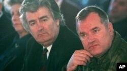 Радован Караџиќ и Ратко Младиќ