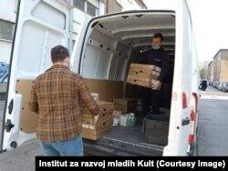 Isporuka opreme prikupljene tokom akcije Instituta za razvoj mladih Kult
