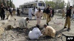 Архивска фотографија: Напад во градот Куета во Балучистан.