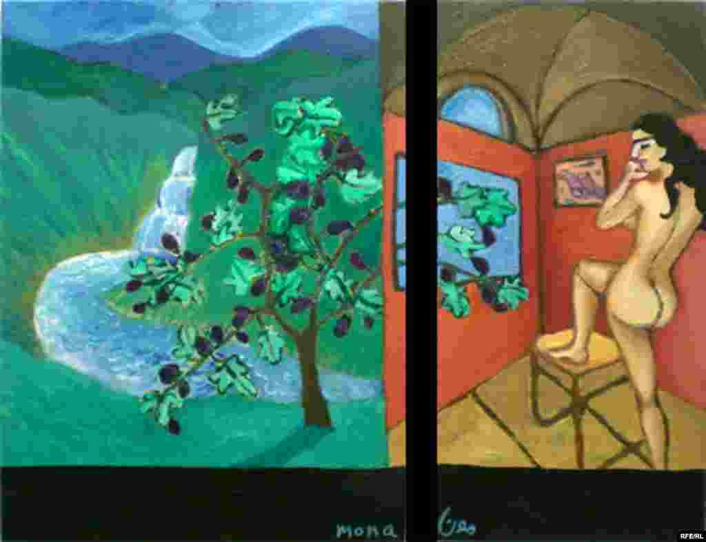 Iranian-American Artist Mona Shomali #9