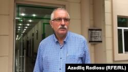 "Мехман Алиев, руководитель информагентства ""Туран""."