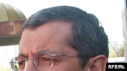 БТА банктің басқарма төрағасы Роман Солодченко. Алматы, 23 қазан, 2008 жыл.