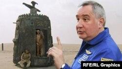 """Директорът на """"Роскосмос"""" Дмитрий Рогозин"""