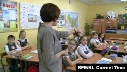 На уроке татарского в Казани