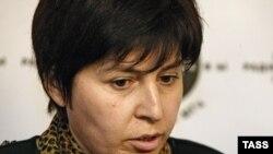 Председатель общественной организации «Голос Беслана» Элла Кесаева