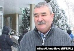 Сергей Печуркин, директор охотничьего хозяйства. Талдыкорган, 20 ноября 2012 года.
