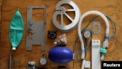 Dijelovi mehaničkog medicinskog ventilatora