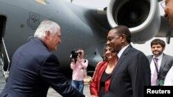 Последняя официальная заграничная поездка Рекса Тиллерсона на посту госсекретаря США. Чад, Нджамена, 12 марта 2018 года.