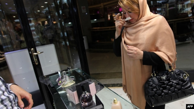 Trgovina kozmetike u Teheranu