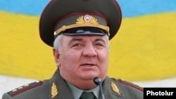 Armenia - Colonel General Yuri Khachaturov, 28May2010.
