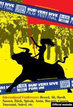 Plakat ovogodišnjeg Subversive Festivala