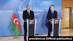 Prezident İlham Əliyev və NATO-nun baş katibi Yens Stoltenberq