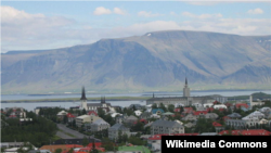 Imagine a capitalei Islandei, Reykjavik