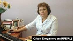 Тамара Ващенкова, «Ана мен бала» ұлттық ғылыми орталығының басшысы. Астана, 24 шілде 2013 жыл.