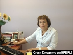 Директор Национального научного центра материнства и детства Тамара Ващенкова. Астана, 24 июля 2013 года.