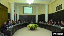 Armenain Government session