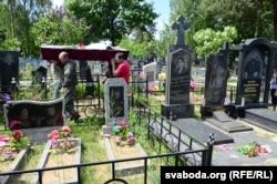 Разьвітаньне зь Лідзіяй Юрчанкай на Грабянёўскіх могілках