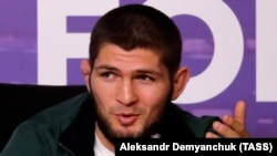 Хабиб Нурмагомедов, чемпион UFC в легком весе