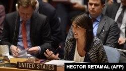 Ambasadorja amerikane në OKB, Nikki Haley.