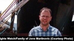 Novinar Jovo Martinovic