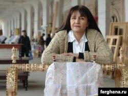 Узбекский кино- и фотодокументалист Умида Ахмедова.