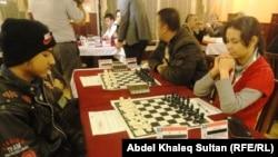 جانب من منافسات بطولة العراق الدولية بالشطرنج في دهوك