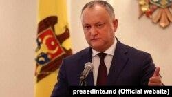Прэзыдэнт Малдовы Ігар Дадон