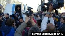 Задержание Алексея Чепкасова